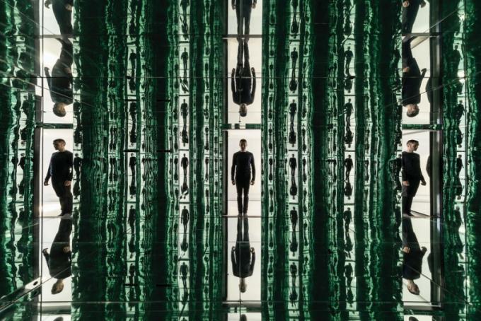 Dočasné instalace: Jean-Maxime Labrecque Architecte (Kanada): Infinite Buildings, Montreal, Quebec, Kanada