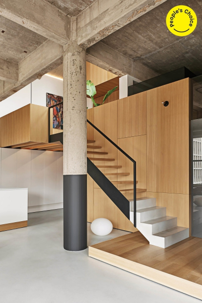 Residenční interiér: Vladimir Radutny Architects (USA): Michigan Loft, Chicago, USA