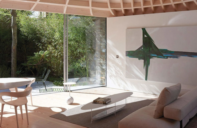 Rodinný dům: Gianni Botsford Architects (Spojené království): House in a Garden, Londýn, Spojené království