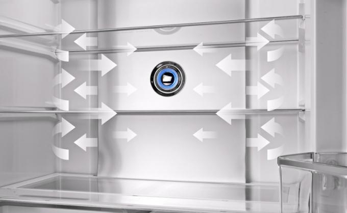 Některé nové americké chladničky Concept jsou vybavené funkcí plazma sterilizátoru. Model LA8983ss disponuje 70l variabilní zónou, která může sloužit jako chladnička nebo mraznička