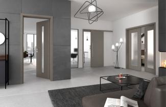 Interiérové dveří jsou totiž plnohodnotnou součástí domu či bytu a dokážou celému prostoru dodat ten správný estetický výraz.(www.prum.cz)
