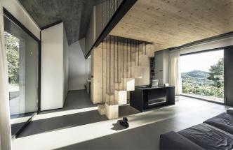 Netradiční interiéry v tradičním domě