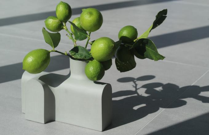 Porcelánové vázy tvoří cévní systém