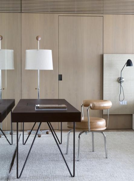 Vostatních místnostech je výrazně zastoupený světlý dub.