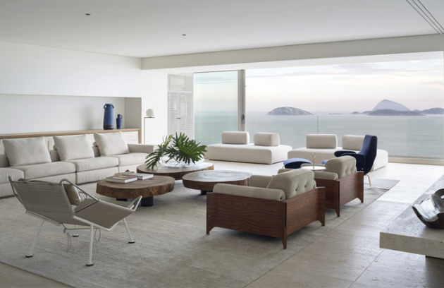 Víkendový apartmán s 360º výhledem na moře