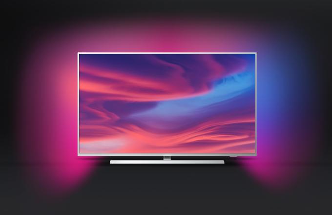 Philips TV se při vývoji televizorů zaměřuje nejen na výkon, ale i na praktické a estetické detaily, jež oceníte. Série 7304 má středový otočný podstavec, díky kterému si televizor můžete postavit i na výrazně menší stolek, než je samotná šířka televizoru, a natočit dle potřeby. Stojan i tenký rám jsou vyrobeny z kovu v evropském designu a televizor tak skvěle zapadne do vašeho moderního bydlení.