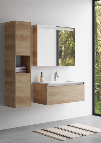 Nábytek do koupelny Bono od značky Dřevojas bude stát ve vaší koupelně do 5 dnů