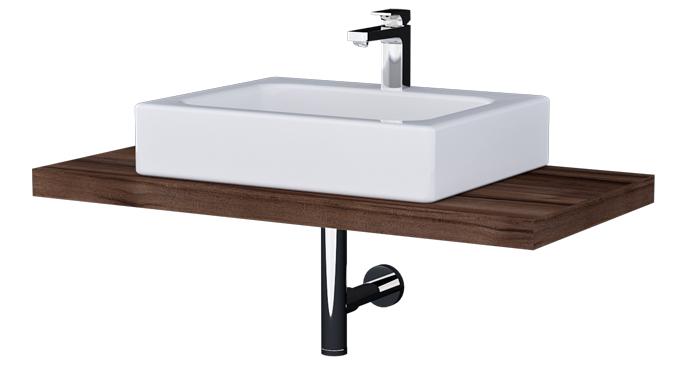 Chcete koupelnu spíš v přírodním stylu? Vsaďte na dřevodekor!