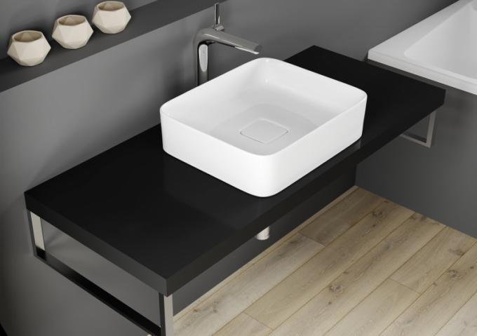 Umyvadlová deska je v českých koupelnách stále více oblíbená
