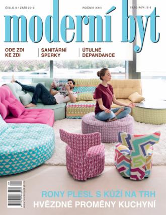 Vyšlo nové číslo časopisu Moderní byt!