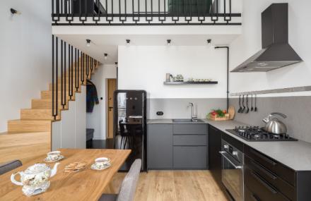 Eklektický a útulný byt pro mladý pár