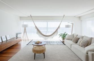 Patio jako středobod portugalského bytu