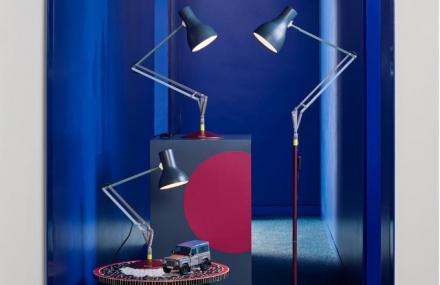 Edice Four reinterpretuje lampy z kolekce Type 75 ™ původně navržené produktovým designérem Sirem Kennethem Grangem. Nově však s uplatněním palety barev, které Paul Smith použil u auta Land Rover Defender.