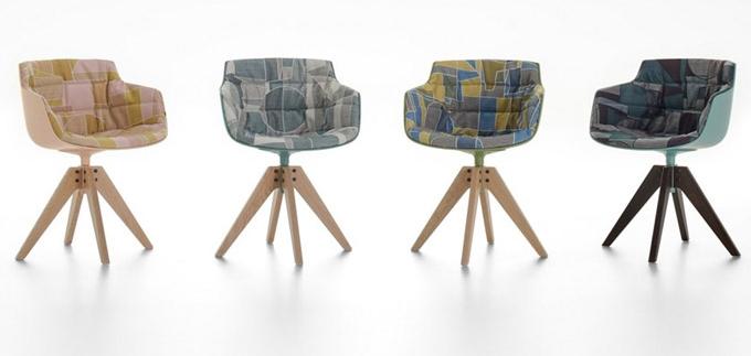 Rodina esteticky pozoruhodných židlí a křesílek Flow (MDF Italia) od designéra Jeana-Marie Massauda je synonymem pohodlí a je k dispozici v polstrované a kompletně čalouněné variantě Flow Chair a Flow Slim v široké škále provedení základními materiály s výběrem povrchových úprav. Cena od 19 180 Kč, WWW.KONSEPTI.COM