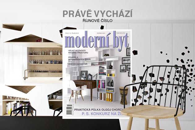 Říjnové vydání časopisu Moderní byt