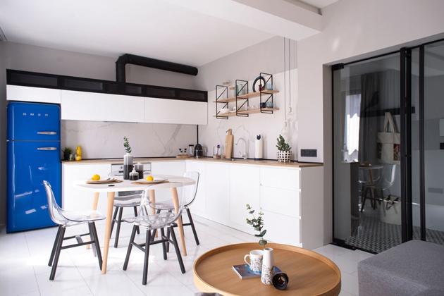 I malý byt pro tříčlennou rodinu může být stylový