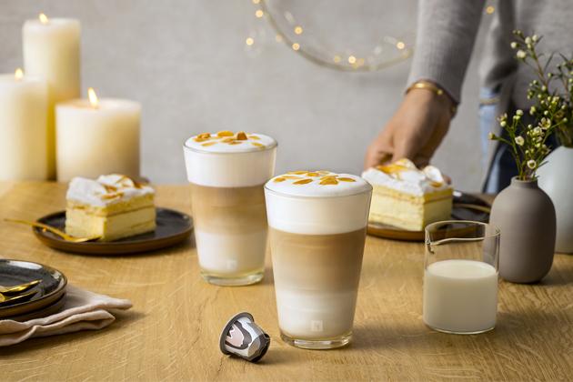 Směs Variations Nordic Almond Cake Flavoured vychází z tradičních skandinávských chutí a nabízí kombinaci aroma mandlí a vanilky na bázi směsi Livanto, která se inspiruje tradičním norským koláčem Kvæfjordkake.
