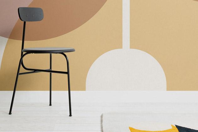 Tapeta Bilden (Murals Wallpaper), šířka role 45cm, motiv je dostupný navíce typech papíru, cena 1028 Kč/m²,  www.muralswallpaper.co.uk