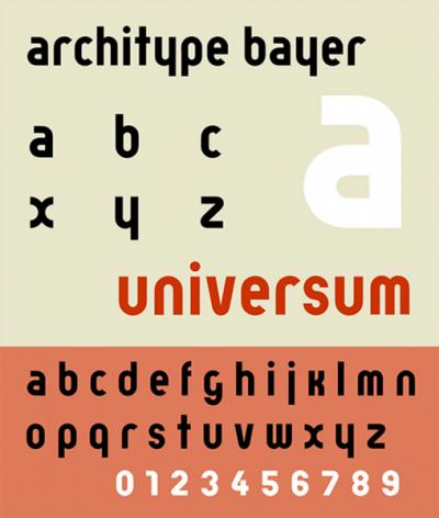 """Touha pojednoduchosti aefektivitě se promítla také dotypografie. Vroce 1925 inicioval Herbert Bayer, mistr dílny tisku areklamy vDesavě, psaní malými písmeny: """"píšeme vše malými písmeny, protože tím šetříme čas. anavíc kčemu 2abecedy, když lze spomocí jedné dosáhnout téhož? proč velkými písmeny psát, když se velkými písmeny nedá mluvit?"""""""