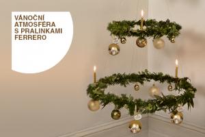 Vánoční atmosféra s pralinkami Ferrero
