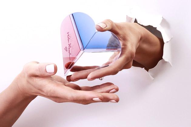 Křišťálové Srdce na dlani