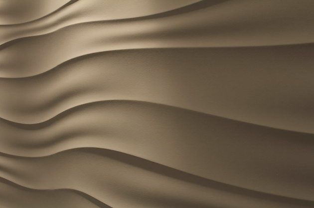 Jedinečná technologie Sculptural (Němec), plastický efekt připomínající písečné duny, zprefabrikovaných panelů, cena nadotaz, WWW.NEMEC.EU