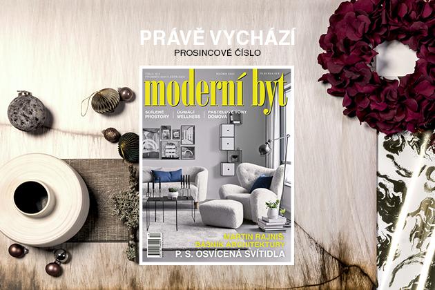 Právě vyšlo nové číslo časopisu Moderní byt