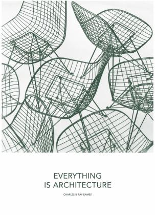 Plakát Architecture zkolekce Eames Quotes Posters (Vitra), papír, 50 × 70cm, cena 774Kč, www.designville.cz