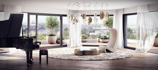 Vkusná neokázalost a minimalismus nechávají vyniknout detailům v nejvyšší kvalitě provedení a použitých materiálech. Jednoduchost a elegance se snoubí snároky současného životní stylu. Kombinace moderních technologií, značkových zařizovací předmětů, velkorysých teras sfrancouzskými okny, charakterizuje KAY River Lofts jako domov plný inspirace.