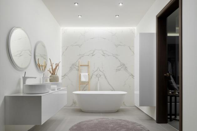 Voděodolný koupelnový nábytek (Foto: HANÁK NÁBYTEK)