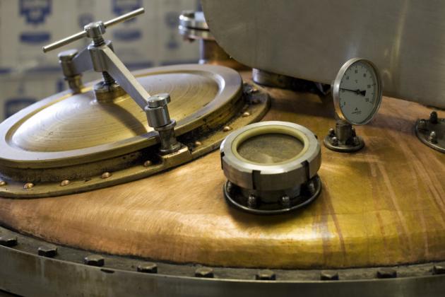 Fleret destilační kotel