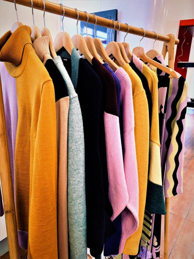 Oděvní kolekce Terezy Rosalie Kladošové pro Woolife