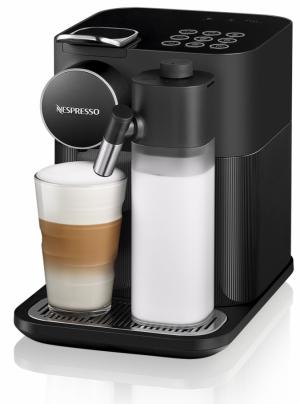 Kávovar Lattissima Gran (Nespresso), kdostání vNespresso Boutiques avsíti smluvních partnerů, cena 8990Kč, WWW.NESPRESSO.CZ