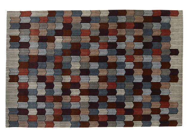 Memoire D'une Trame (Ligne Roset), design Constance Frapolli, 90% vlna, ručně vyráběný, 200 × 300cm, cena 69292Kč, www.ligne-roset.com