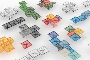 Symetrické, pravidelné i nepravidelné sestavy zcela novým způsobem oživí veřejný prostor. Pixel je také jedním z příkladů udržitelnosti a šetrného nakládání se zdroji: je založen na krátkých dřevěných lamelách, které vznikají při zpracování větších laviček. Spoluautory je designérské duo Herrmann&Coufal a zajímavou sestavu laviček Pixel ve tvaru české vlajky najdete například v parku na pražském Vítkově.