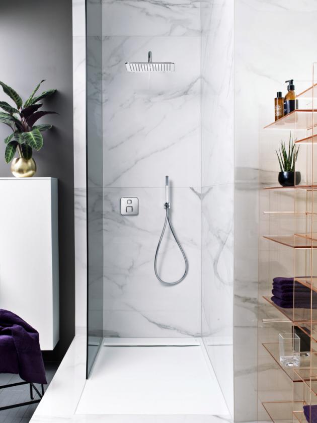 Novinkou značky Laufen je kolekce Sense, ve které nechybí ani sprchová sestava, cena zatím nebyla stanovena, www.laufen.cz