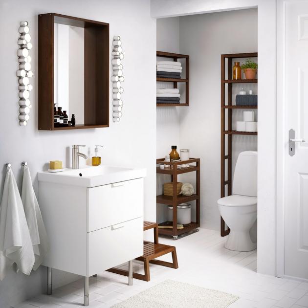 Koupelnový vozík Molger (IKEA), dřevo, cena 999Kč, WWW.IKEA.CZ