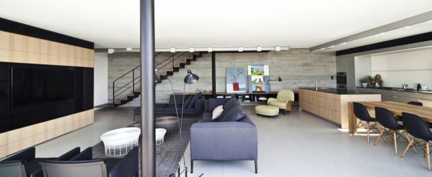 Byt navrhlo izraelské studio Pitsou Kedem Architects