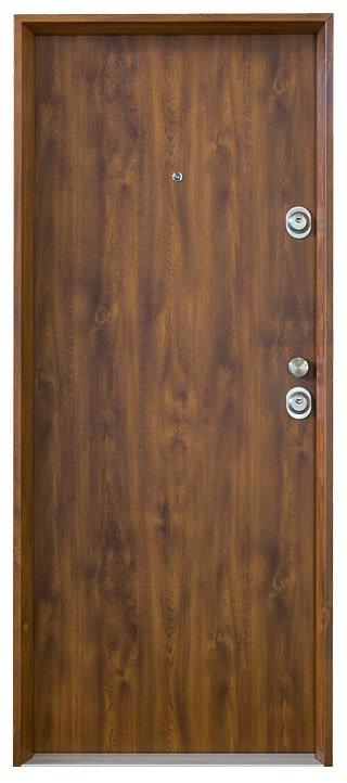 Model Premium od firmy HT dveře se skvěle hodí pro nebytové, ale i bytové prostory. Využijete jej zejména ve sklepech, kolárnách a dalších úložných místnostech.