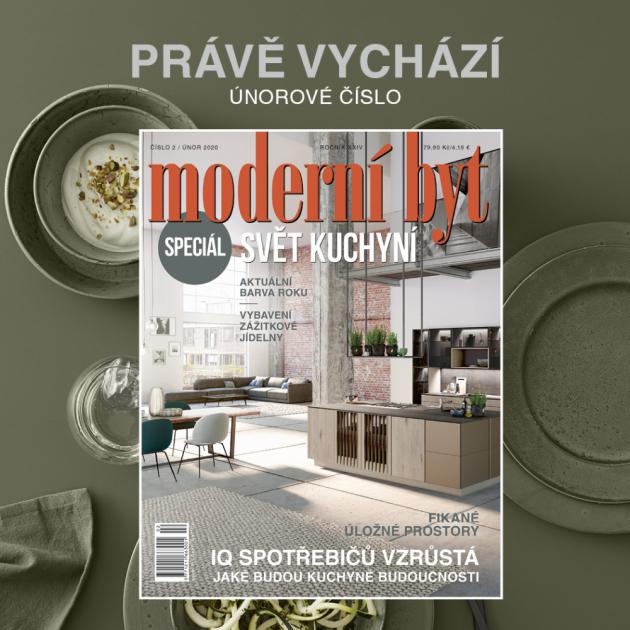 Nové číslo časopisu Moderní byt je na stáncích!