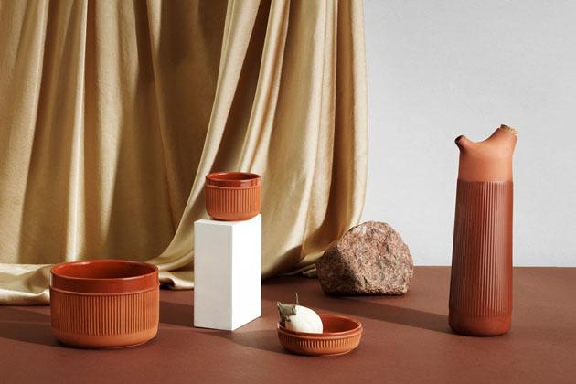 Tradiční španělská keramika inspirovala sérii Junto (Normann Copenhagen).