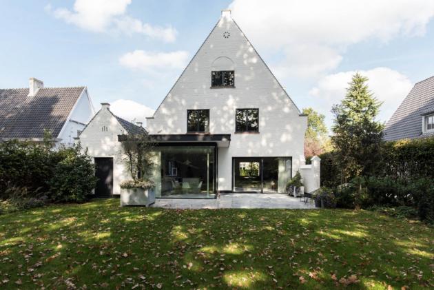 Zrekonstruované bydlení poblíž belgického Gentu