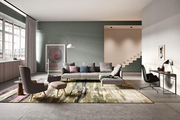 Muud představuje oázu klidu a díky své variabilitě je vhodná i do menších interiérů.