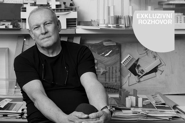 Architekt Josef Pleskot pro Moderní byt