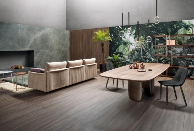 Židle By (Bonaldo), design Bartoli Design, ocel, textilie i kůže, cena 19 800Kč, www.puntodesign.cz