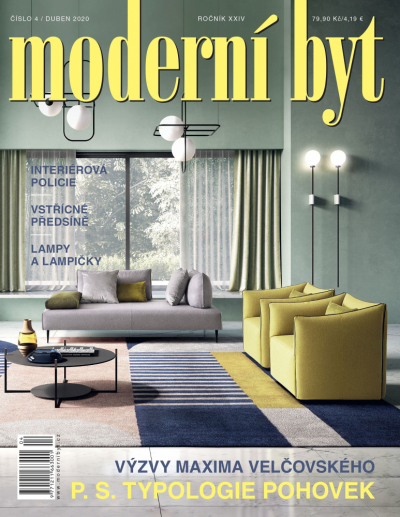 Celý článek naleznete v tištěné verzi časopisu Moderní byt, která vychází tento týden.