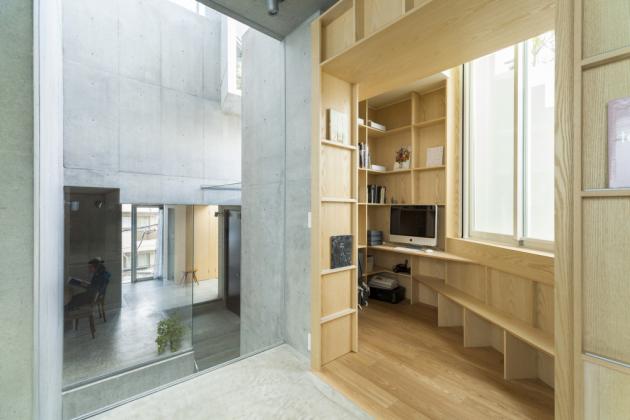 331 m2byt, Japonsko, architekt:Akihisa Hirata (foto: Vincent Hecht)