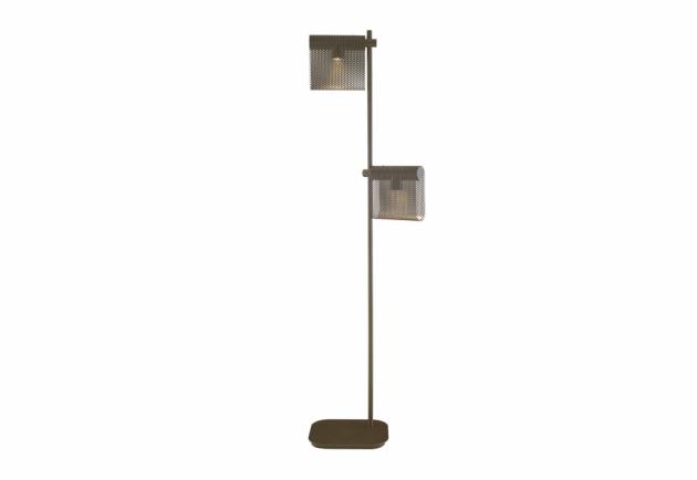 Architekt Antoine Rouzeau je nejen jedním z hlavních architektů vyhlášeného pařížského Muzea Orsay, ale také jedním z designérů, kteří se podíleli na nové kolekci pro výrobce Ligne Roset. Ve spolupráci letos prezentují sérii designových svítidel Grid, vyznačující se perforovanými stínidly v bronzové či saténově zelené barvě. Základna je obdélníková se zaoblenými rohy, zatímco dřík je z trubkovitého kovu. Cena závěsného svítidla začíná na 10 880 Kč, stojací lampy na 39 912 Kč, WWW.LIGNE-ROSET.COM