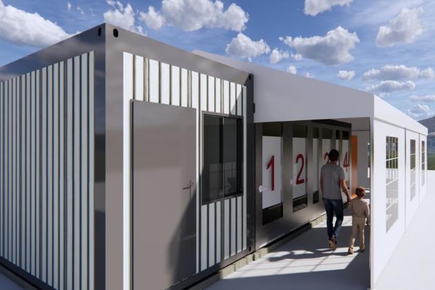 Americký architekt Albert Rhee ze studia CannonDesign přišel spraktickým řešením. Navrhl místo, které je určené pro potřeby testování v městských oblastech pro obyvatele, kteří vozidlo nevlastní.