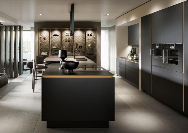 Kuchyně SieMatic poskytují opravdový komfort a spojují nejen domácnost, ale celou rodinu. Celá kuchyně spíše působí jako přechod do obývací části bytu, či domu a díky tomu zde rádi budete trávit více času.